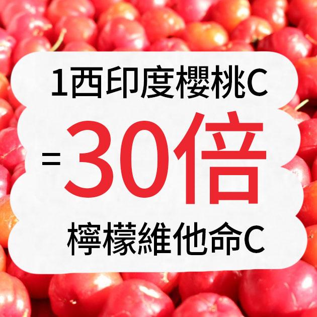 【買3送1】日本新升級膠原蛋白+法國天然萃取西印度櫻桃C 3